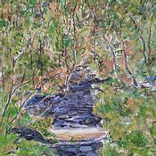 Картины ручной работы. Ярмарка Мастеров - ручная работа Весна в лесу. Handmade.