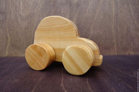 Развивающие игрушки ручной работы. Ярмарка Мастеров - ручная работа. Купить Машинки из дерева, деревянные игрушки. Handmade. Бежевый