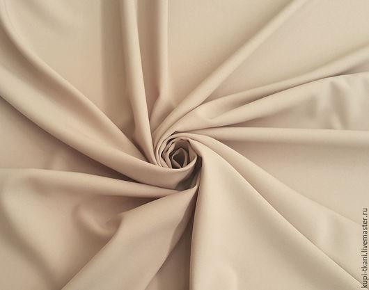 Шитье ручной работы. Ярмарка Мастеров - ручная работа. Купить Габардин песочный Корея. Handmade. Габардин, ткань для творчества