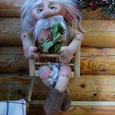 Куклы и игрушки ручной работы. Ярмарка Мастеров - ручная работа Банщик. Handmade.