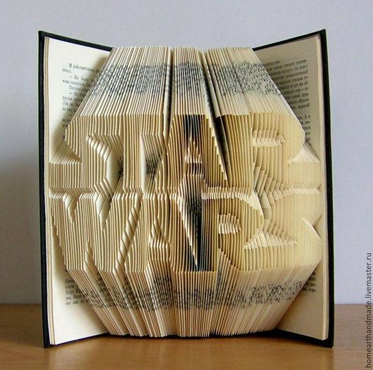 Интерьерные слова ручной работы. Ярмарка Мастеров - ручная работа. Купить STAR WARS - любителю звездный войн,bookart. Handmade.