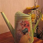 """Цветы и флористика ручной работы. Ярмарка Мастеров - ручная работа Лейка """" В саду"""". Handmade."""