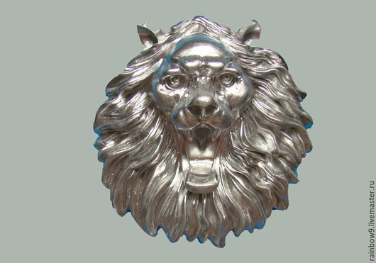 Морда, голова льва на стену, входную дверь и фасад