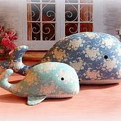 Куклы и игрушки ручной работы. Ярмарка Мастеров - ручная работа Киты тильда. Handmade.