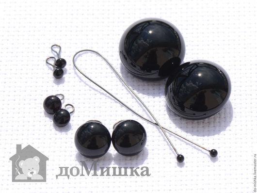 Куклы и игрушки ручной работы. Ярмарка Мастеров - ручная работа. Купить глаза черные, глянцевые 2-20 мм. Handmade.