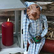 Куклы и игрушки ручной работы. Ярмарка Мастеров - ручная работа Дворецкий пес. Handmade.