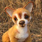Куклы и игрушки handmade. Livemaster - original item felt toy: Chihuahua Puppy.. Handmade.