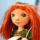 Коллекционные куклы ручной работы. Алиса. Текстильная игровая кукла.. Анна Талалайко. Интернет-магазин Ярмарка Мастеров. Подарок, флис