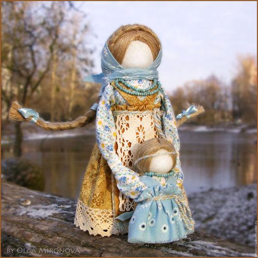 Народные куклы ручной работы. Ярмарка Мастеров - ручная работа. Купить Ведучка. Handmade. Ведучка, текстильная кукла, русский стиль