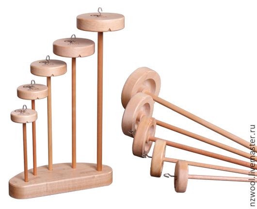Вязание ручной работы. Ярмарка Мастеров - ручная работа. Купить Коллекция подвесных веретен (drop spindles). Handmade. Прядение на веретене