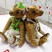 Куклы и игрушки ручной работы. Ярмарка Мастеров - ручная работа Мишка-тедди в штанишках. Handmade.