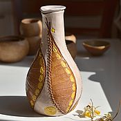 """Посуда ручной работы. Ярмарка Мастеров - ручная работа Графин """"Осень"""". Handmade."""