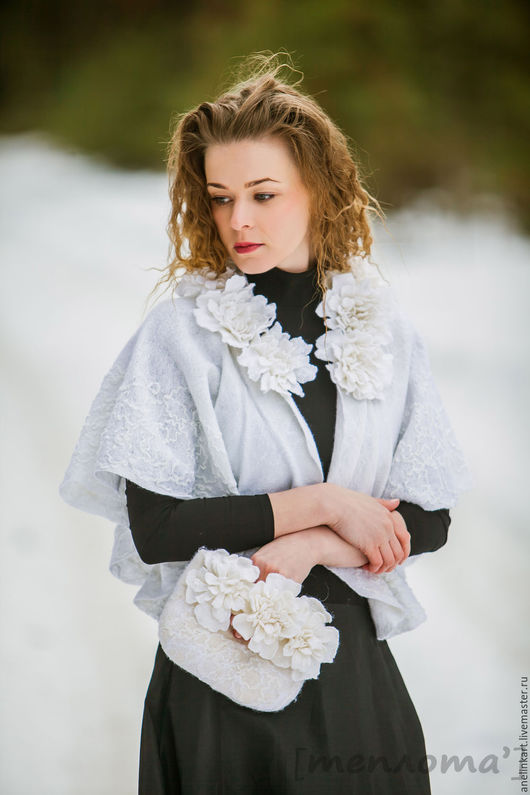 """Одежда и аксессуары ручной работы. Ярмарка Мастеров - ручная работа. Купить Сумочка клатч  для невесты """"Белые пионы"""". Handmade."""