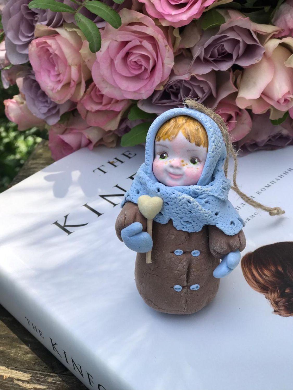 Ёлочная игрушка, Народные сувениры, Москва, Фото №1