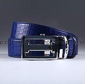 Straps handmade. Livemaster - original item The belt from the belly of a crocodile IMA0177C4. Handmade.