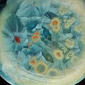 "Украшения handmade. Livemaster - original item Porcelain brooch ""Flowering"". Handmade."