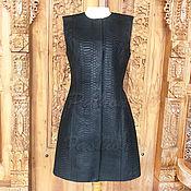 Одежда handmade. Livemaster - original item MALEFICENT Python Dress. Handmade.