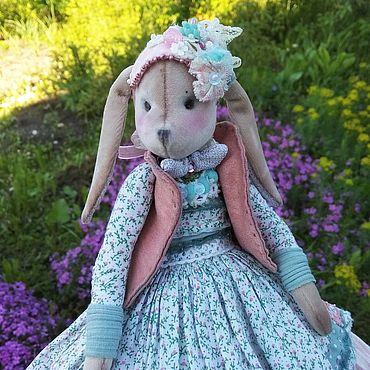 Куклы и игрушки ручной работы. Ярмарка Мастеров - ручная работа Зайка Лола. Handmade.