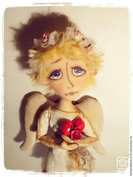 Коллекционные куклы ручной работы. Ярмарка Мастеров - ручная работа. Купить Лель - Ангел любви. Handmade. Бежевый, сказочный персонаж