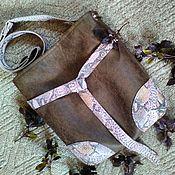 """Сумки и аксессуары ручной работы. Ярмарка Мастеров - ручная работа """"Туласи"""" сумка женская, подарок на день рождения, стиль casual. Handmade."""