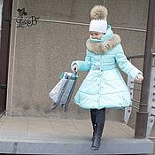 """Работы для детей, ручной работы. Ярмарка Мастеров - ручная работа Зимнее пальто для девочки """"Снегурочка"""". Handmade."""