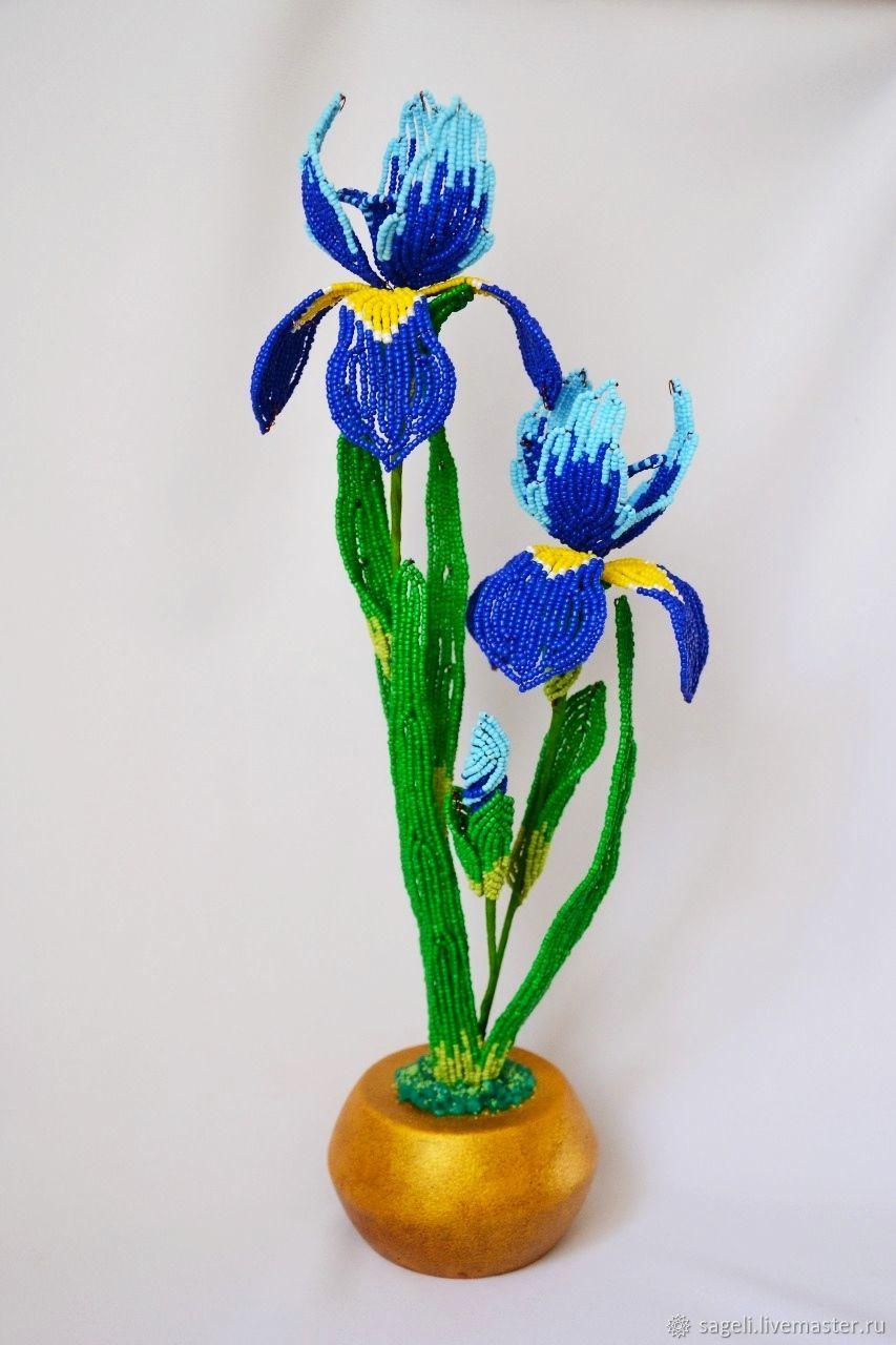 Iris beaded, Flowers, Krasnodar,  Фото №1