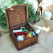 Сувениры и подарки handmade. Livemaster - original item Christmas toy set in box