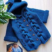 Одежда handmade. Livemaster - original item Cardigan baby Bear. Handmade.