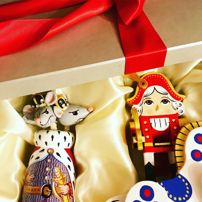 Деревянная игрушка Мышиный король, Мягкие игрушки, Москва,  Фото №1