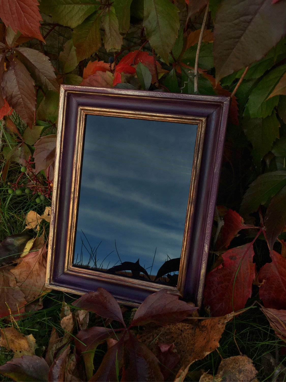Чёрное магическое зеркало «Сумерки», Ритуальная атрибутика, Новосибирск,  Фото №1