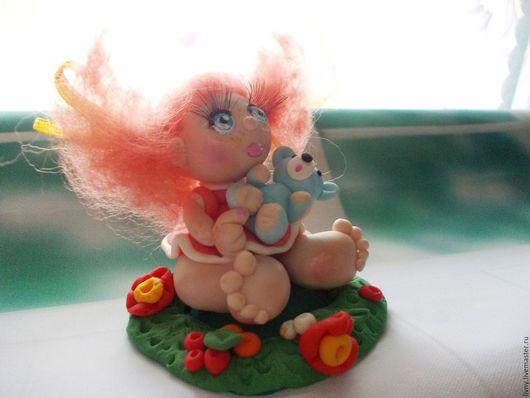 """Миниатюра ручной работы. Ярмарка Мастеров - ручная работа. Купить Луша. Кукла авторская. Из серии """"Натусики"""". Миниатюра.. Handmade."""