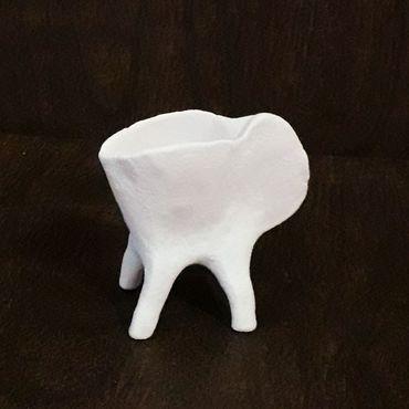 Посуда ручной работы. Ярмарка Мастеров - ручная работа Фарфоровый мини соусник. Handmade.