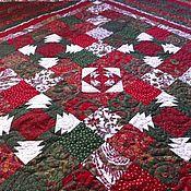Русский стиль ручной работы. Ярмарка Мастеров - ручная работа Лоскутное стеганное покрывало. Handmade.
