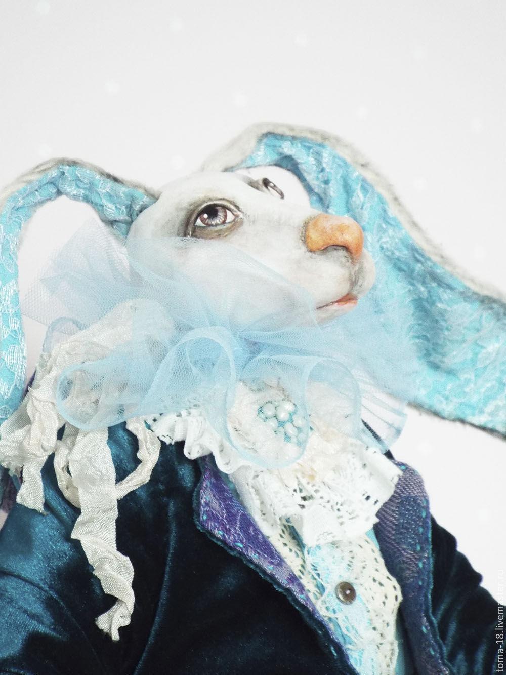 Белый кролик. Кролик из Алисы в стране чудес, Куклы и пупсы, Ижевск,  Фото №1