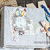 """Канцелярские товары ручной работы. Ярмарка Мастеров - ручная работа Альбом """"Школьные друзья"""". Handmade."""