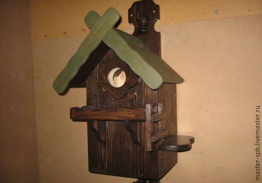 Бельчатник `Лесной` - деревянный домик для белки