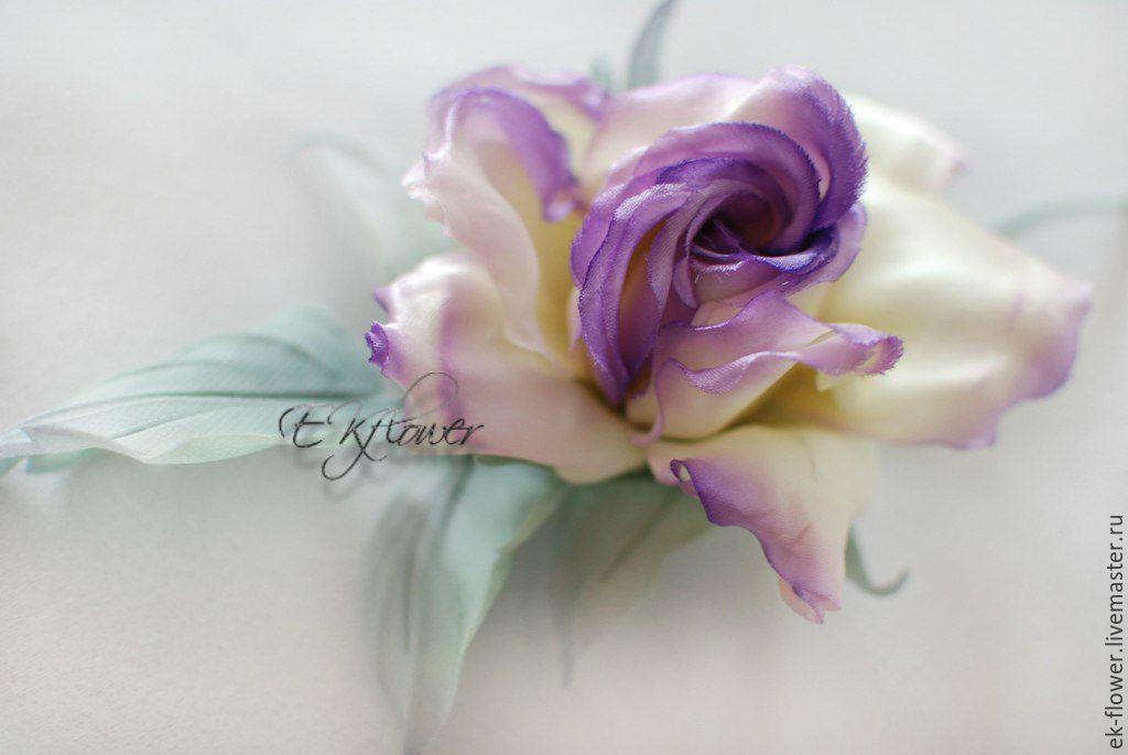 Silk flowers flower rose brooch violet shop online on silk flowers flower rose brooch violet mightylinksfo