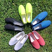 Обувь ручной работы. Ярмарка Мастеров - ручная работа (-15%) Испанские кеды из хлопка и льна. Handmade.