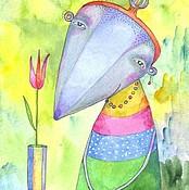 Картины и панно ручной работы. Ярмарка Мастеров - ручная работа Мисс Крокли). Handmade.