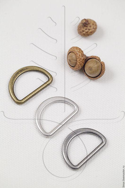 Шитье ручной работы. Ярмарка Мастеров - ручная работа. Купить Полукольца 30 мм. Handmade. Фурнитура, металлофурнитура, серебро