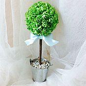 Цветы и флористика handmade. Livemaster - original item Topiary roses present. Handmade.