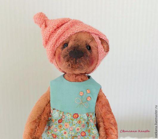 Мишки Тедди ручной работы. Ярмарка Мастеров - ручная работа. Купить Мишка тэдди Павлуша. Handmade. Тёмно-бирюзовый