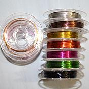 Материалы для творчества handmade. Livemaster - original item Wire range 8-10 meters (0,7 mm). Handmade.