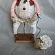 Ароматизированные куклы ручной работы. Збышек и барашек. Дана Свистунова. Ярмарка Мастеров. Пастушок, кофе