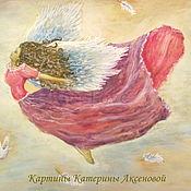 Картины и панно handmade. Livemaster - original item The picture flight angel beautiful lady pretty girl. Handmade.