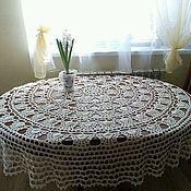 Для дома и интерьера ручной работы. Ярмарка Мастеров - ручная работа Скатерть для круглого стола, диаметр 2 м.. Handmade.