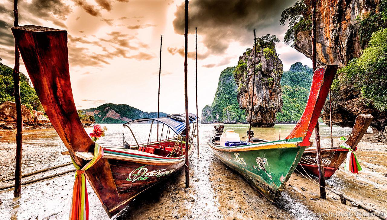 Таиланд Картины на состаренном дереве, Картины, Москва,  Фото №1