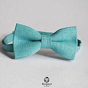 Аксессуары handmade. Livemaster - original item Tie Blue melange / blue textured tie necktie. Handmade.