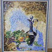 """Для дома и интерьера ручной работы. Ярмарка Мастеров - ручная работа Мозаика, Панно """"Натюрморт"""". Handmade."""
