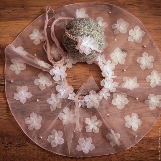 Для новорожденных, ручной работы. Ярмарка Мастеров - ручная работа. Купить юбочка для новорожденных принцесс:-) с повязочкой. Handmade. Для новорожденных